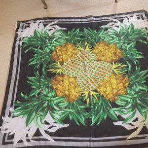 Tropical inspired sarong/scarf